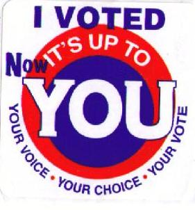 Early Vote sticker