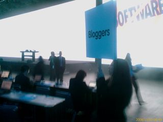 Blogger Row at Dreamforce