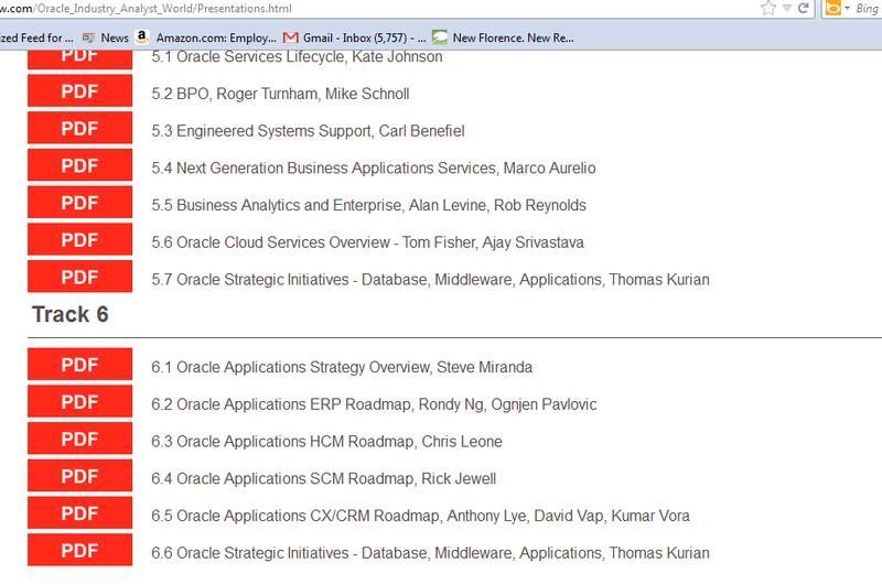 Oracle Analyst World