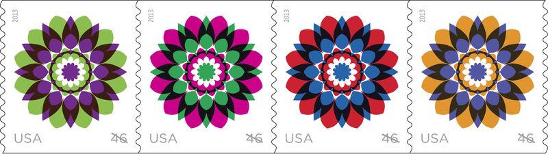 USPS Kaleidoscope