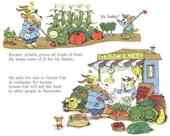 Farmer alfafa