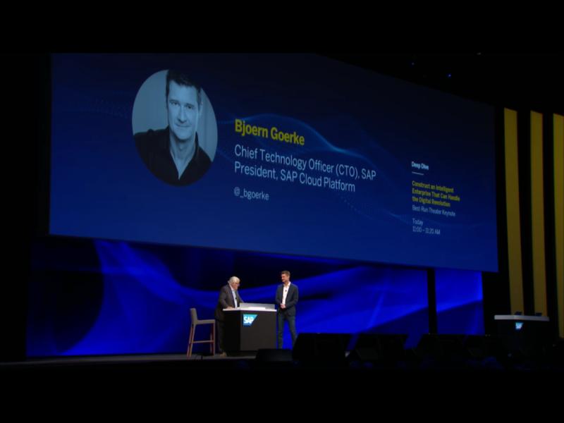 Sapphire keynote stage