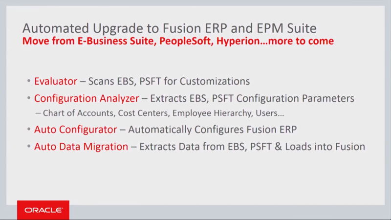 Oracle Automated Upgrade