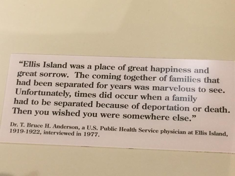Ellis Island quote