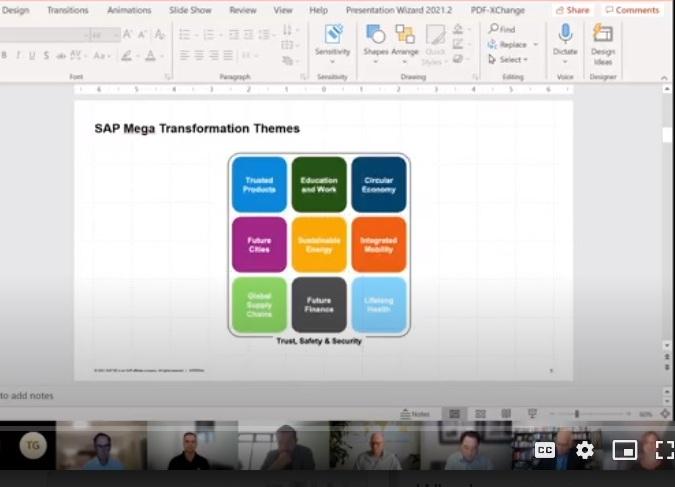 SAP Industries briefing Sep 24 2021 2